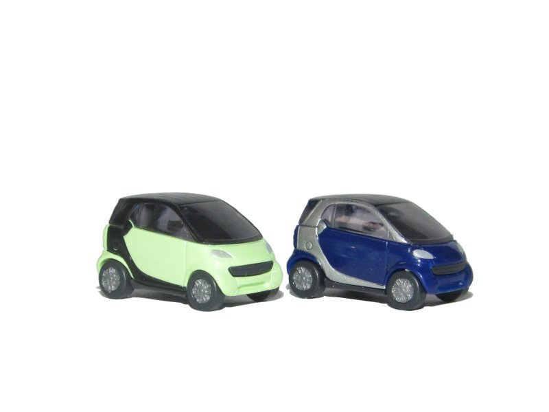Busch Smart Fortwo 2 Farben Spur N 1:160