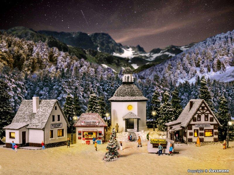 Decoration Noel Lumineux Train