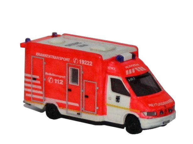 City-Town district Rettungswagen Krankenwagen Spur N