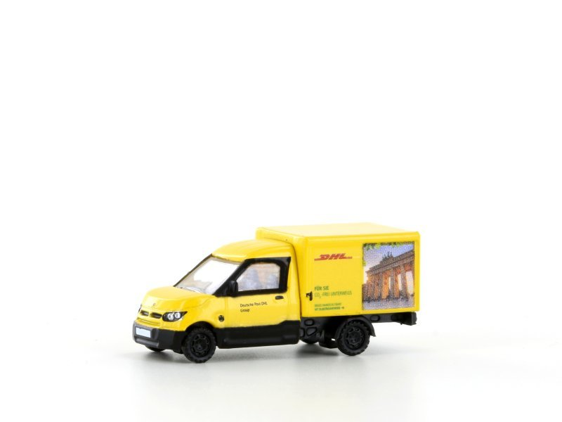 Lemke Minis Streetscooter Work DHL Berlin LC4556 1:160