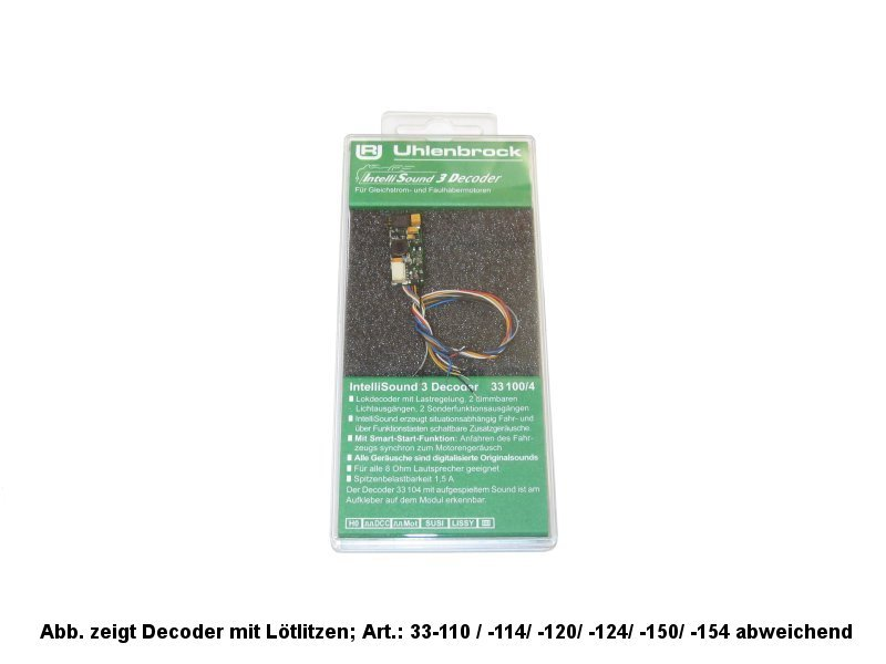 Uhlenbrock Digital IntelliSound Decoder Art.: 33154