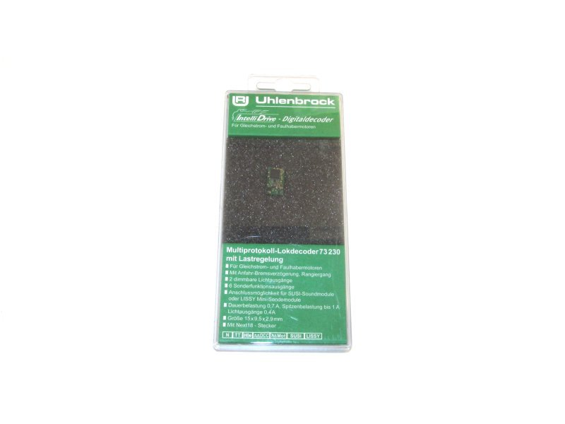 Uhlenbrock Digital Mini-Lokdecoder Next-18 (18-polig) Art.: 73230