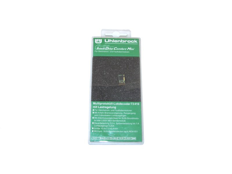 Uhlenbrock Digital Mini-Lokdecoder NEM 651 (6-polig) Art.: 73410